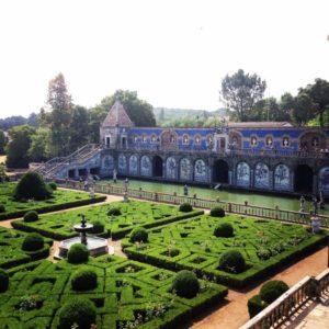 The palace garden, Palacio Fronteira
