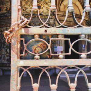 Capela de S. Amaro – entrance