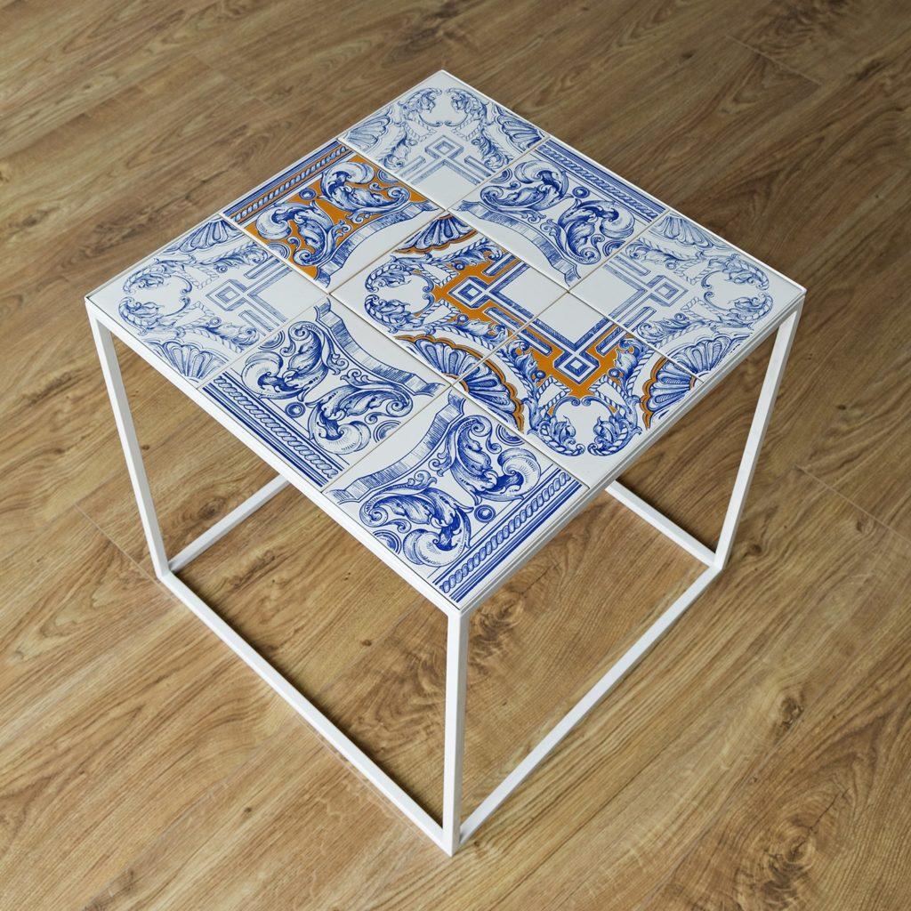 Lizbonika Tile Table by Solemika